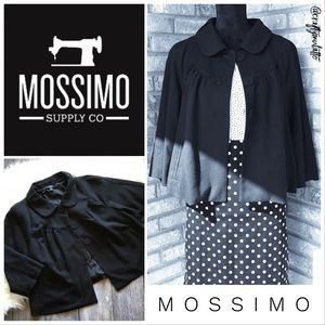 NWOT Mossimo Swing Crop Jacket w/Peter Pan Collar